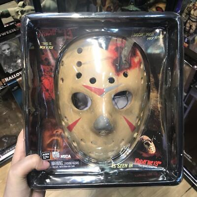 NECA Friday the 13th Prop Replica Jason Mask Part 4 Final Chapter New PW