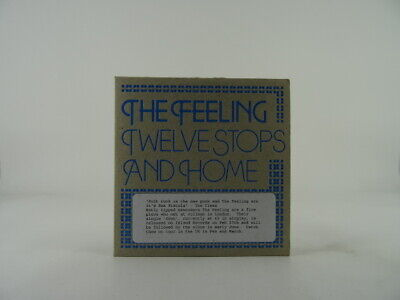 THE FEELING, TWELVE STOPS AND HOME, 74, EX/VG, 5 Track, Promo CD Single, Card Sl