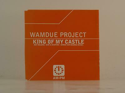 WAMDUE PROJECT, KING OF MY CASTLE, 409, EX/VG, 4 Track, Promo CD Single, Picture