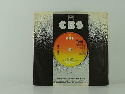 """BILLY JOEL, MY LIFE, 1, EX/EX, 2 Track, 7"""" Single, Picture Sleeve, CBS RECORDS"""