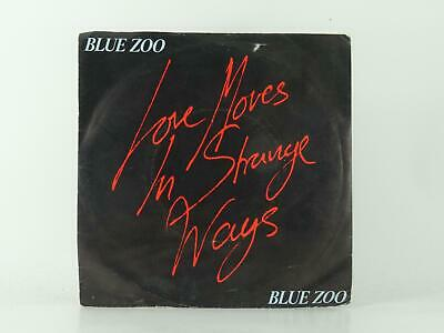 """BLUE ZOO, LOVE MOVES IN STRANGE WAYS, 28, VG/EX, 2 Track, 7"""" Single, Picture Sle"""