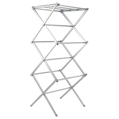 Expandable Clothes Airer | Foldable Washing Drying Rack | Easy Storage | M&W