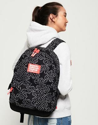 Superdry Print Edition Montana Rucksack in Mono Star
