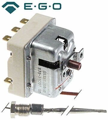 Safety Thermostat Switch-Off Temp. 235°C 3-Pole 20A Probe D 4Mm Probe L 120Mm