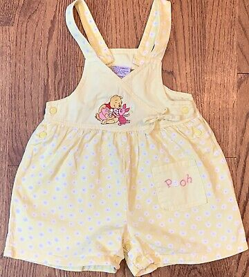Infant Girls Rompers Pink White Green Blue Black Yellow Floral Pooh Butterfly