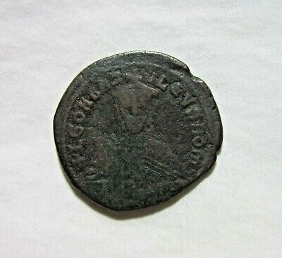 Byzantine. Ae  Follis. Leo Vi The Wise, 886-912 Ad.