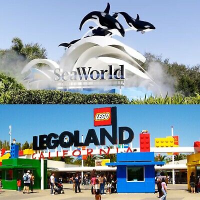 (3) Legoland + Free SeaWorld Tickets