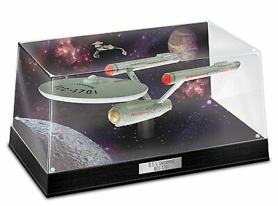 Star Trek USS Enterprise NCC 1701 Lighted Sculpture by Bradford Exchange