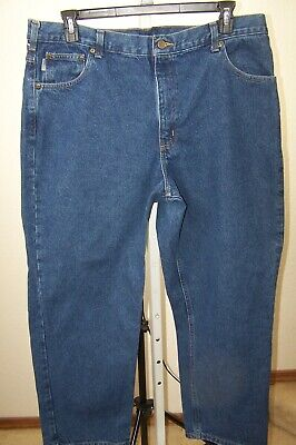New Jeans Mens Carhartt Holter Relaxed Denim Bedrock Wash Jeans Lots of Sizes mc