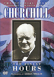 The Official Story Of Churchill - The Finest Hours (DVD, 2005) new freepost