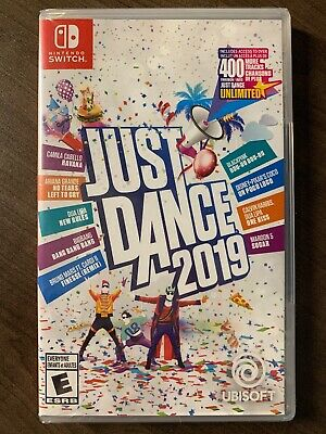 Just Dance 2019 NEW & Sealed Canada Nintendo Switch