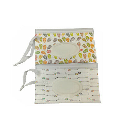 Refillable Cleaning Wipe Carrying Case Eco-friendly Wet Wipes Bag Pouch Bag