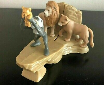 Mcdonalds Lion King Happy Meal Toys #1, #2 And #4 Pride Rock Set (Lot Of 3) New