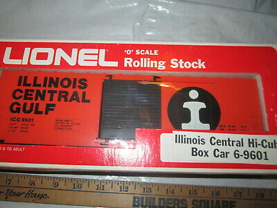 Lionel 9601 Illinois central Gulf HI-Cube box Car in box.