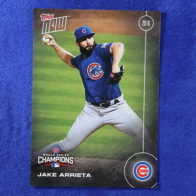 2016 Topps Now Card #WS-13: Chicago Cubs Jake Arrieta