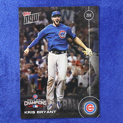 2016 Topps Now Card #WS-5: Chicago Cubs Kris Bryant