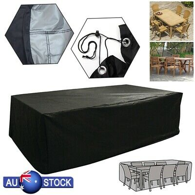 Large Outdoor Furniture Cover for Garden Table Chair Patio Waterproof All Sizes