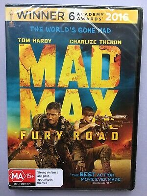 Mad Max Fury Road DVD Brand New