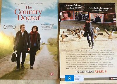 Movie Flyer - The Country Doctor François Cluzet Marianne Denicourt *NOT A DVD*
