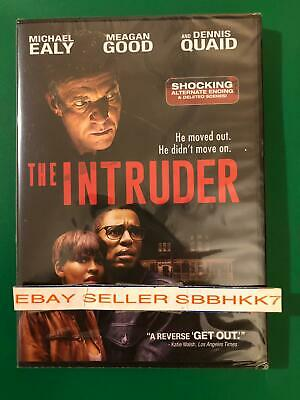 The Intruder DVD 2019 *AUTHENTIC READ LISTING* Brand New Free Shipping