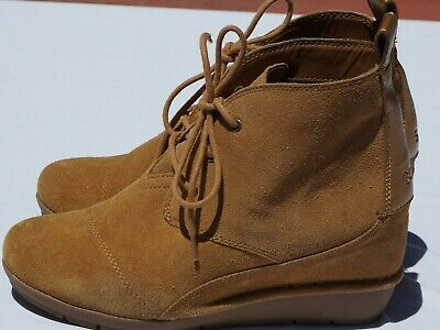 WOMENS SKECHERS BOBS Boots High Peaks Casual Suede Ankle