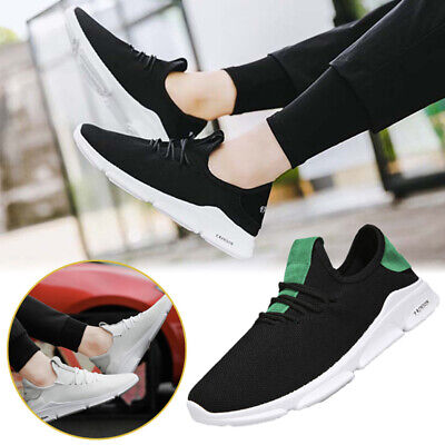 NEW Men Breathable Casual Net Flat Sneakers GYM Spring Sport Increase Shoes 7-10