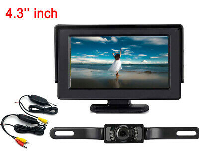 4.3inch color TFT LCD screen monitor&wireless camera with IR night vision system