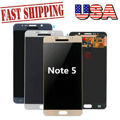 For Samsung Galaxy Note5 N920 LCD Display Touch Screen Digitizer Replacement USA