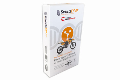 SelectaDNA Off-Road and Quad Bike Kit - Forensic Protection System