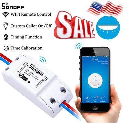 Sonoff - ITEAD WiFi Wireless Smart Switch Module for Home DIY For APP Control AN