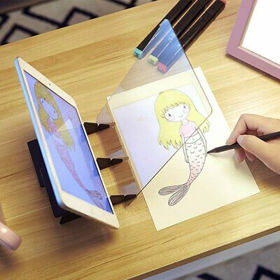 DIY Drawing Sketch Painting Tracing Board Mould Copy Pad Panel Craft Toy KC