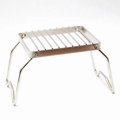 BBQ Grill Stainless Steel Grill Rack Barbecue Grill Portable Folding Mini Pocket