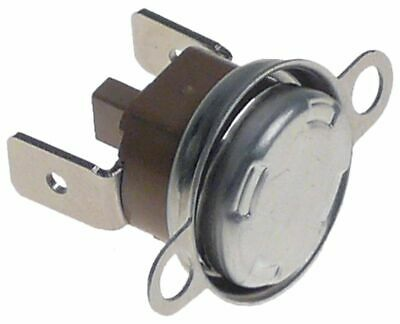 Bi-Metal Safety Thermostat Hole Distance 23,5Mm Switch-Off Temp. 105°C Nc 1-Pole