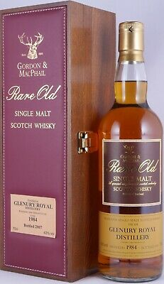 Glenury Royal 1984 23 Years Rare Old Highland Single Malt Scotch Whisky 43,0%