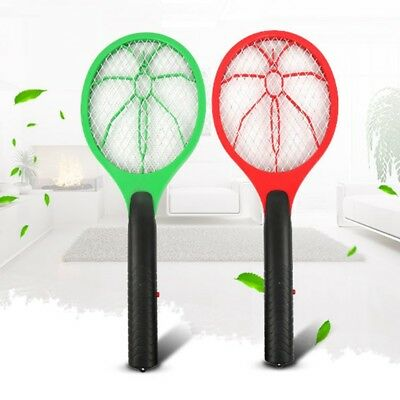 Mosquito Killers Electric Tennis Racket Insect Fly Bug Zapper Wasp Swatter #wcl