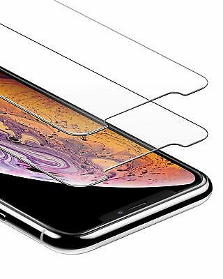 Gorilla Tempered Glass Screen Protector for New iPhone XS Max XR XS X Pack of 2.