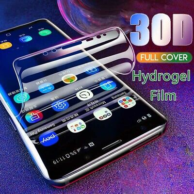 For Samsung S10 Plus S8 S9 PET Hydrogel film Full Cover Curved Screen Protector