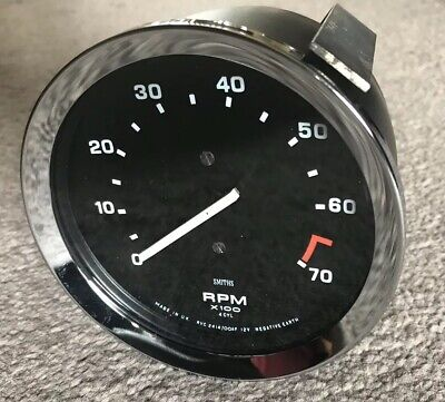 RECONDITIONED SMITHS RVC 4 Cylinder Revcounter MG , TRIUMPH , KIT , CLASSIC CAR