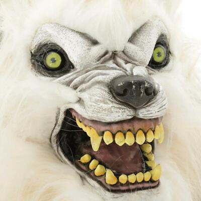 Life Size ANIMATED HOWLING WOLFMAN Halloween Prop HAUNTED HOUSE