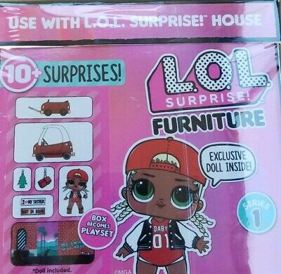 LOL Surprise Doll House Furniture Set ❤ SWAG COZY COUPE CAR ❤ In hand