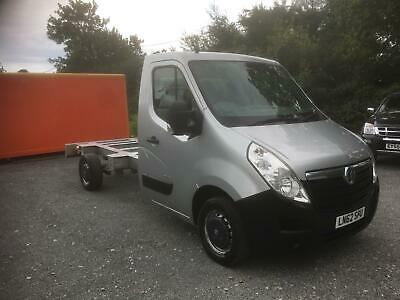 2012 Vauxhall Movano Chassis Cab 2.3Cdti 6 Speed Exceptional Condition No Vat