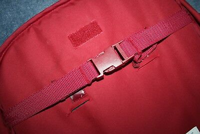 Mothercare Orb pushchair sit up back buckle spare part replacement - red