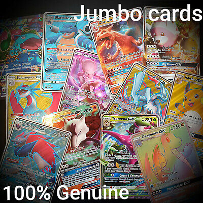 Jumbo Giant Pokemon Cards