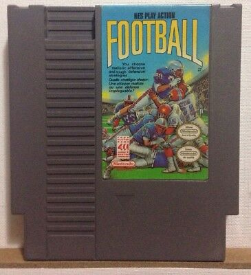 Play Action Football -- Nintendo Entertainment System NES -- Cart only