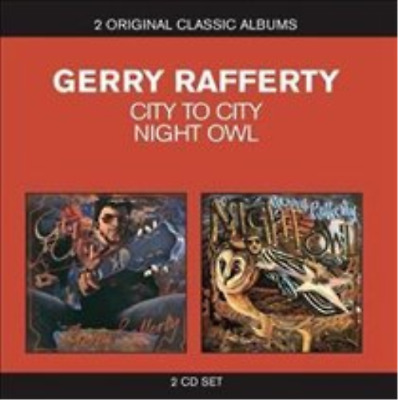 Gerry Rafferty-City to City/Night Owl (UK IMPORT) CD / Box Set NEW