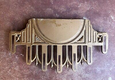 Lot of (8) Art Deco Hanging Light Fixture Ends Architectural Salvage - Aluminum