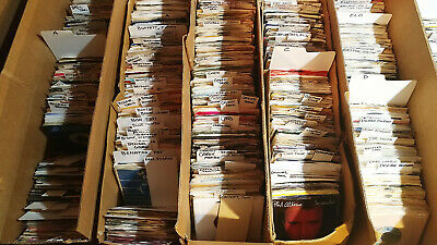 Pick ANY (10) 45 rpm JUKEBOX RECORDS for $19.99 70's 80's 90s POP ROCK SOUL R-Z