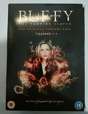 Buffy The Vampire Slayer Complete Collection Box Set DVDs - Seasons 1 - 7