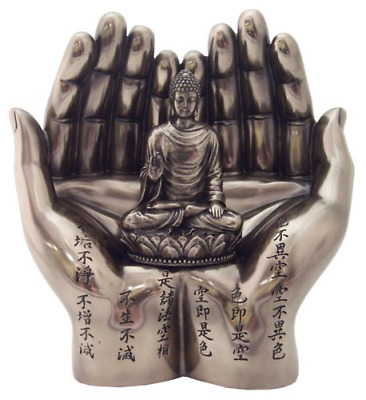 Top Collection Shakyamuni on Palm Statue - The Enlightened One Sculpture in Cold