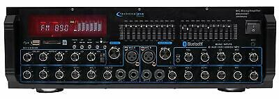Technical Pro MM2000BT Mic Mixing Amplifier 2000 Watts With Bluetooth New MM2000
